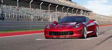 Corvette z06 gbe crystal red
