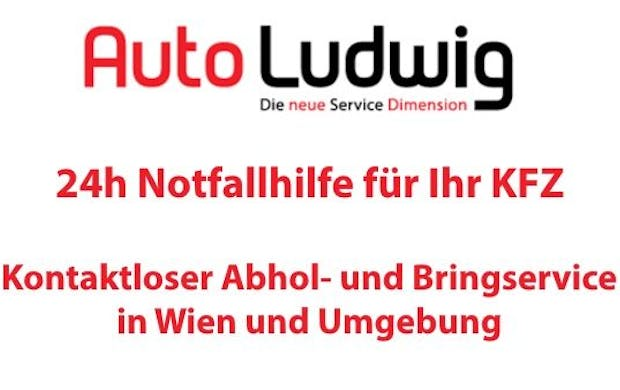 24h Not­fall­hil­fe — Auto Ludwig