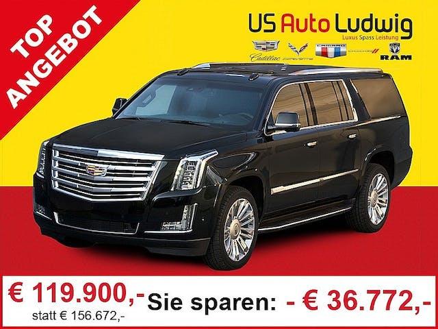 Cadillac Escalade 6,2l V8 AWD Platinum Aut. bei AutoLudwig GMBH in 3x in 1230 Wien | US-Neuwagen (CADILLAC, CORVETTE, CHEVROLET, DODGE, RAM) | Multimarken Gebrauchtwagenhandel | KFZ Werkstatt mit Bosch Service