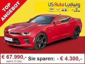 Chevrolet (USA) Camaro V8 Coupe Aut. bei AutoLudwig GMBH in 3x in 1230 Wien | US-Neuwagen (CADILLAC, CORVETTE, CHEVROLET, DODGE, RAM) | Multimarken Gebrauchtwagenhandel | KFZ Werkstatt mit Bosch Service