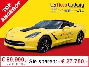 Chevrolet Corvette Coupe 6.2 V8 AT Corvette Stingray Coupe 6.2 V8 AT bei AutoLudwig GMBH in 3x in 1230 Wien | US-Neuwagen (CADILLAC, CORVETTE, CHEVROLET, DODGE, RAM) | Multimarken Gebrauchtwagenhandel | KFZ Werkstatt mit Bosch Service