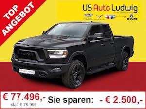 Dodge Ram LKW Quad Cab Rebel Black MY20*Luft*12′'Touchdisplay*2 bei AutoLudwig GMBH in 3x in 1230 Wien | US-Neuwagen (CADILLAC, CORVETTE, CHEVROLET, DODGE, RAM) | Multimarken Gebrauchtwagenhandel | KFZ Werkstatt mit Bosch Service