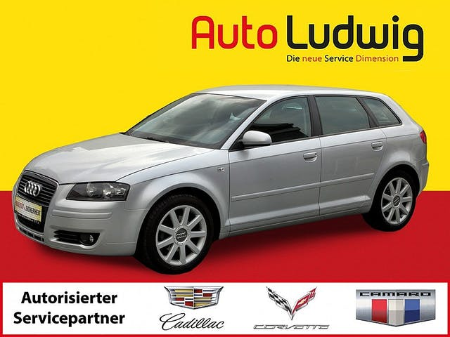 Audi A3 SB 2,0 FSI Ambiente Tiptronic bei AutoLudwig GMBH in 3x in 1230 Wien | US-Neuwagen (CADILLAC, CORVETTE, CHEVROLET, DODGE, RAM) | Multimarken Gebrauchtwagenhandel | KFZ Werkstatt mit Bosch Service