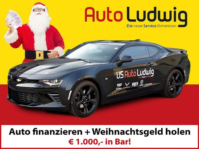 Chevrolet (USA) Camaro Coupé 6,2Aut. bei AutoLudwig GMBH in 3x in 1230 Wien | US-Neuwagen (CADILLAC, CORVETTE, CHEVROLET, DODGE, RAM) | Multimarken Gebrauchtwagenhandel | KFZ Werkstatt mit Bosch Service