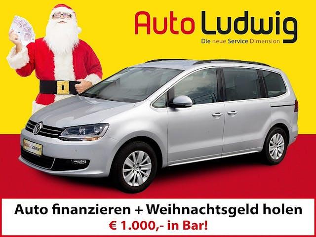 VW Sharan Comfortline SCR 2,0 TDI DSG 4Motion bei AutoLudwig GMBH in 3x in 1230 Wien   US-Neuwagen (CADILLAC, CORVETTE, CHEVROLET, DODGE, RAM)   Multimarken Gebrauchtwagenhandel   KFZ Werkstatt mit Bosch Service