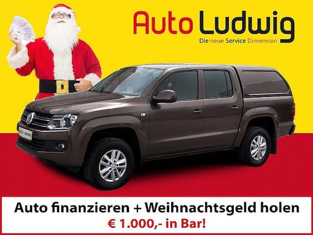 VW Amarok DoubleCab Trendline BiTDI 4x4Aut. bei AutoLudwig GMBH in 3x in 1230 Wien   US-Neuwagen (CADILLAC, CORVETTE, CHEVROLET, DODGE, RAM)   Multimarken Gebrauchtwagenhandel   KFZ Werkstatt mit Bosch Service