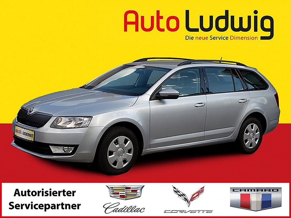 Sko­da Octa­via Com­bi 1,6 TDI Ambi­ti­on 4x4