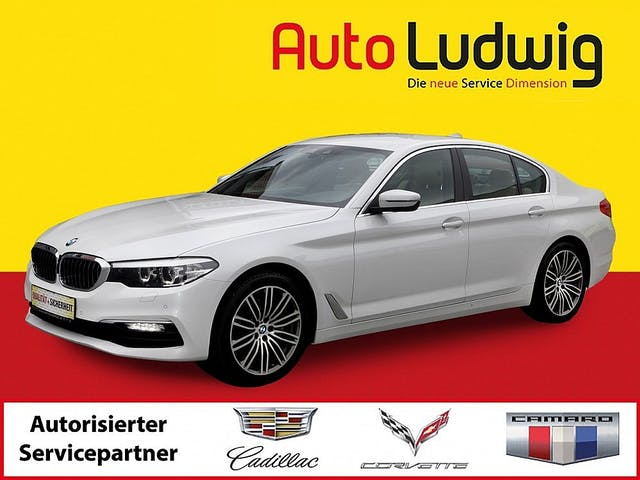 BMW 530d Aut. 530d Aut. (G30)*NAVI *LEDER *SHZ *PDC *Hifi* bei AutoLudwig GMBH in 3x in 1230 Wien | US-Neuwagen (CADILLAC, CORVETTE, CHEVROLET, DODGE, RAM) | Multimarken Gebrauchtwagenhandel | KFZ Werkstatt mit Bosch Service