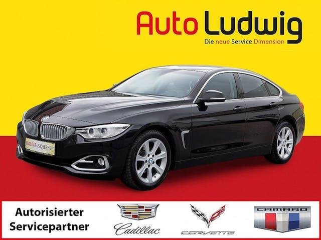 BMW 420d Gran Coupe Aut. *NAVI *XENON *TEMPOMAT *SHZ * bei AutoLudwig GMBH in 3x in 1230 Wien | US-Neuwagen (CADILLAC, CORVETTE, CHEVROLET, DODGE, RAM) | Multimarken Gebrauchtwagenhandel | KFZ Werkstatt mit Bosch Service