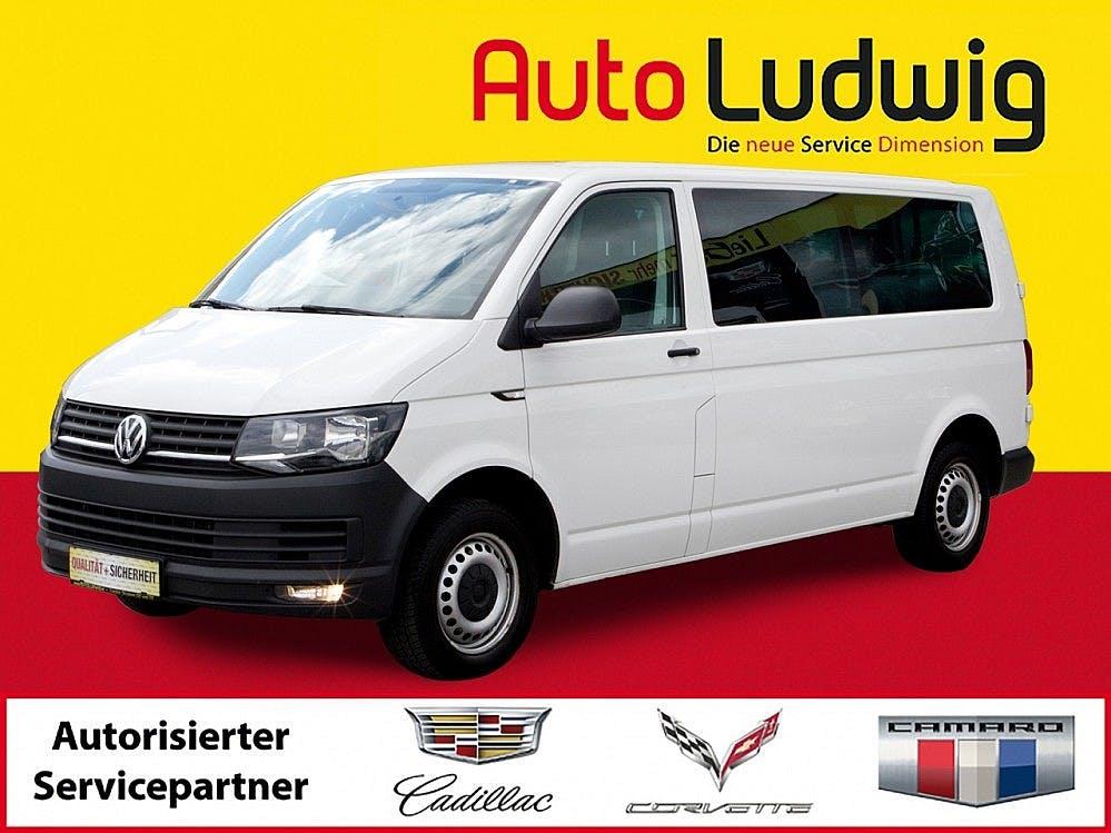 VW T6 Kombi LR 2,0 TDI BMT *LANG *9‑SITZER *PDC *
