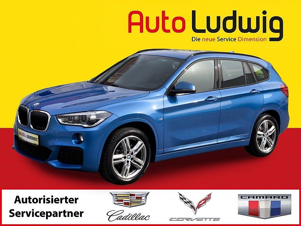 BMW X1 sDrive18i M Sport Aut. *NAVI *LEDER *LED *PANORAMA *PDC *
